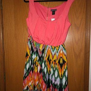 Wet Seal Tribal Print Dress 1X NWT